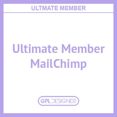 Ultimate Member – MailChimp