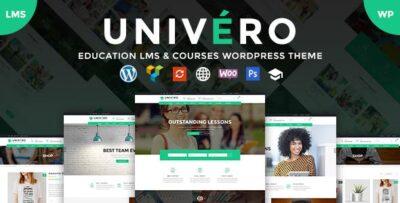 Univero – Education LMS & Courses Theme