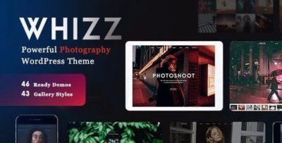 WHIZZ Photography Wordpress Theme