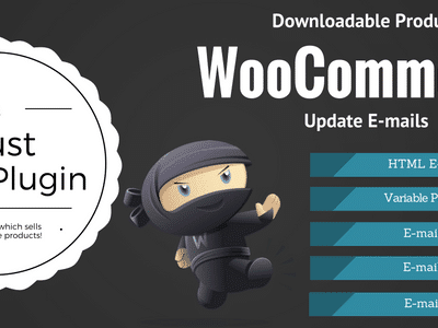 WooCommerce Downloadable Product Update E Mails