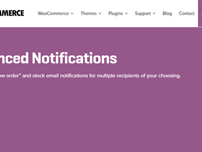 Woocommerce Advanced Notifications