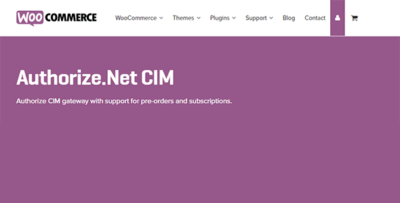 Woocommerce Authorize Net Cim
