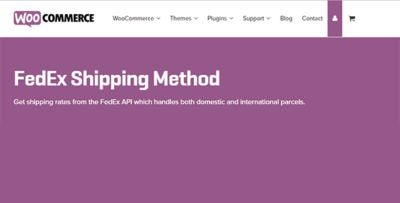 Woocommerce Fedex Shipping Module