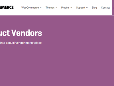 Woocommerce Product Vendors
