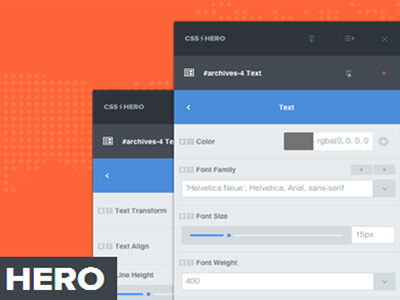 CSS Hero Wordpress Plugin