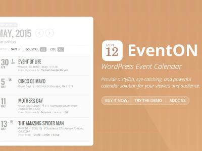 EventOn Event Photos Add On