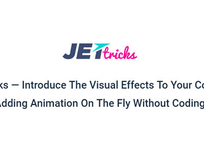 JetTricks For Elementor