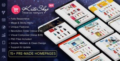 KuteShop WooCommerce Theme