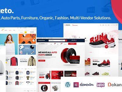 Marketo ECommerce & Multivendor Theme