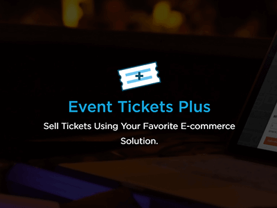 Modern Tribe Event Tickets Plus