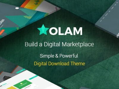 Olam – Easy Digital Downloads Theme