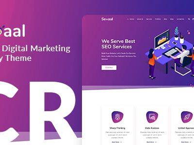 Seoaal SEO & Digital Marketing WordPress Theme