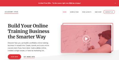 StudioPress Academy Pro Wordpress Theme
