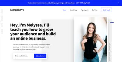 StudioPress Authority Pro Wordpress Theme