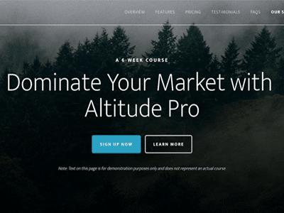 Studiopress Altitude Pro Wordpress Theme