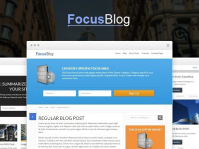 Thrive Themes FocusBlog Theme