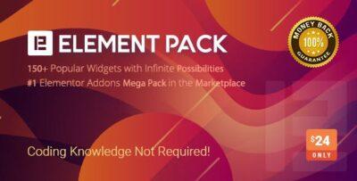 Element Pack Wordpress Plugin