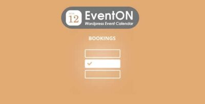 Eventon Bookings Add On
