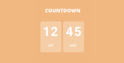 Eventon Event Countdown Add On