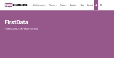 Woocommerce Firstdata