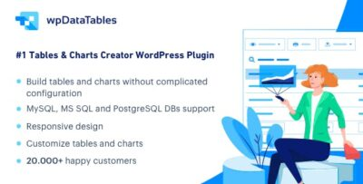 WpDataTables Tables And Charts Manager For WordPress