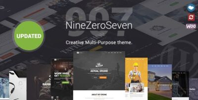 907 Responsive Multi Purpose WordPress Theme