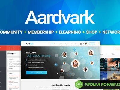 Aardvark Bussypress Comunnity Wordpress Theme