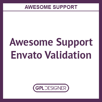 Awesome Support Envato Validation