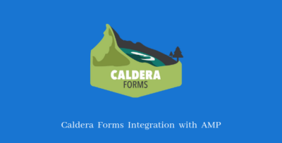 Caldera Forms Support For AMP