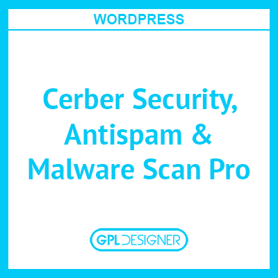 Cerber Security, Antispam & Malware Scan Pro