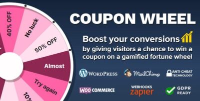 Coupon Wheel For WooCommerce Plugin