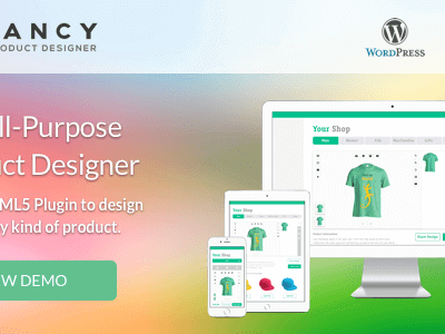 Fancy Product Designer – Woocommerce Plugin