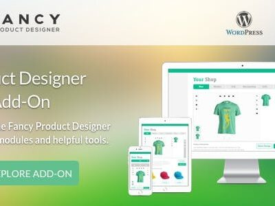 Fancy Product Designer Plus Add On