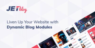 JetBlog – Blogging Package For Elementor