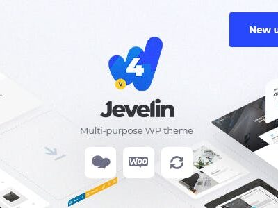 Jevelin Multi Purpose AMP Theme