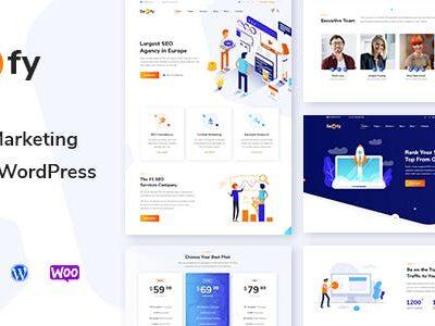 Seofy Digital & Marketing WordPress Theme