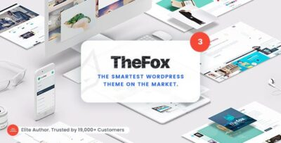 TheFox Responsive Multi Purpose WordPress Theme
