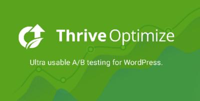 Thrive Themes Optimize Plugin
