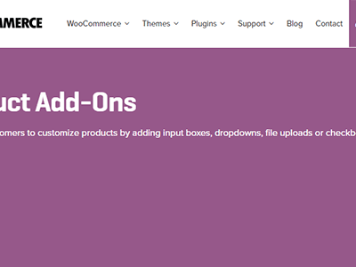 Woocommerce Product Add Ons 1