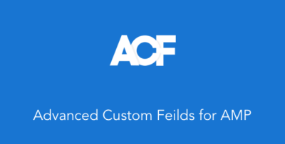 ACF For AMP Plugin