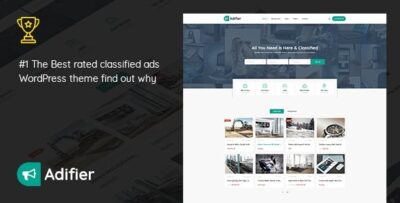 Adifier Classified Ads WordPress Theme