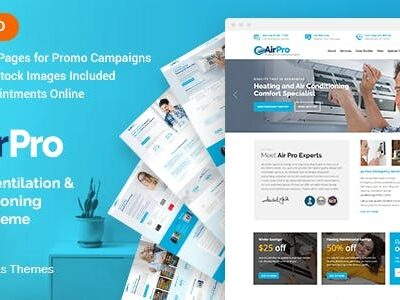 AirPro Heating And Air Conditioning Theme
