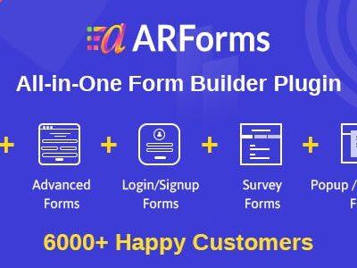 Arforms Wordpress Form Builder Plugin