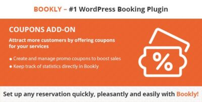 Bookly Coupons (Add On)