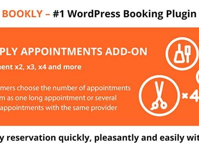 Bookly Multiply Appointments (Add On)