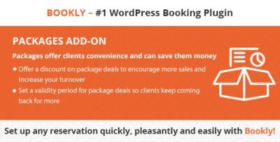 Bookly Pro Packages (Add On)