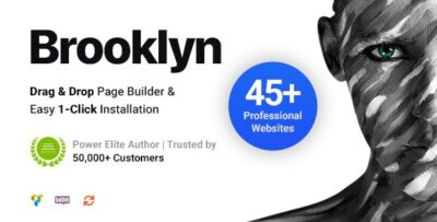 Brooklyn Creative Multi Purpose Responsive WordPress Theme