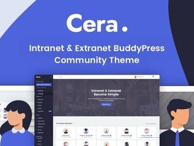 Cera Intranet Wordpress Theme