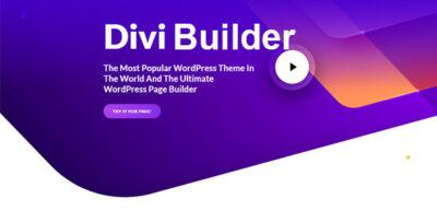 Divi Builder Wordpress Plugin