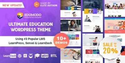 Edumodo Education WordPress Theme